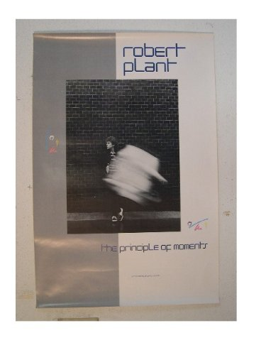 Robert Plant Poster Principle Of Moments Led Zeppelin