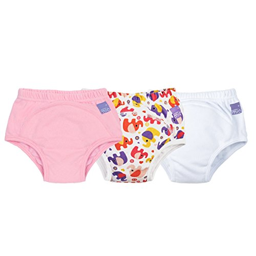 Bambino Mio Potty Training Pants Mixed Pack, Girls, 2-3 Years, 3 Count