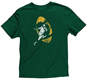 NFL Green Bay Packers 8-20 Youth Retro Logo Short Sleeve Super Soft T-Shirt