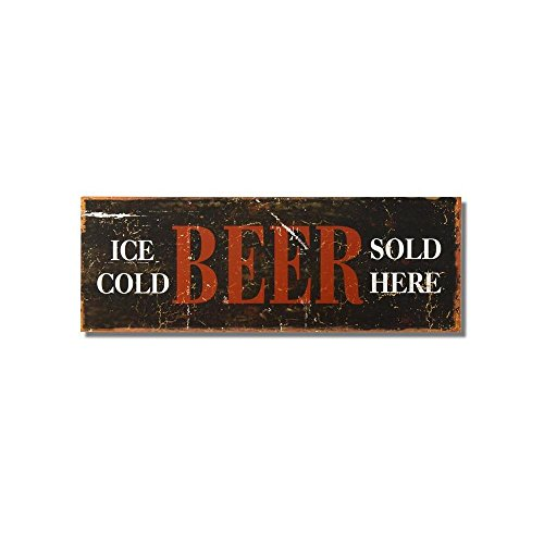 Adeco Decorative Wood Wall Hanging Sign Plaque
