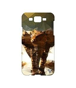 Vogueshell Elephant Printed Symmetry PRO Series Hard Back Case for Samsung Galaxy J7