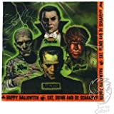 Universal Monsters Halloween Party Luncheon Napkins - 16 Pack