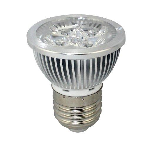 Hqtek Orginal Epistar 1 Pack E27 Led Spotlight Ac85V To 265V(110V,220V Workable) 5W (380 Lumen) 2700 To 3000K Warm White 30 Degree Beam Angle (E27, 5W, Non-Dimmable, Warm White)