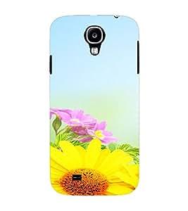 PrintVisa Flower Design 3D Hard Polycarbonate Designer Back Case Cover for Samsung Galaxy S4 Mini