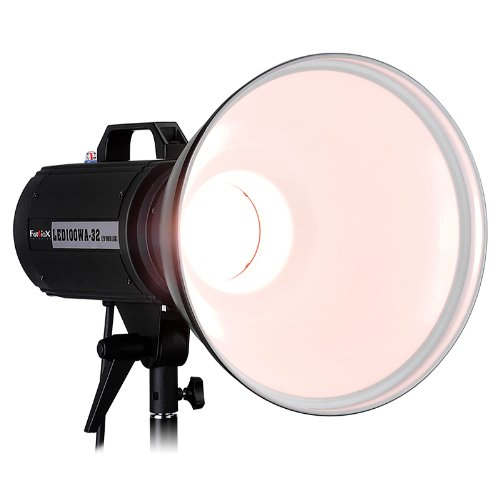 Fotodiox Pro Led100Wa-32 Tungsten Studio Led, High-Intensity Led Studio Light For Still And Video - With Dimmable Control, 12V Ac Power Adapter, Light Stand Bracket, Cri > 85