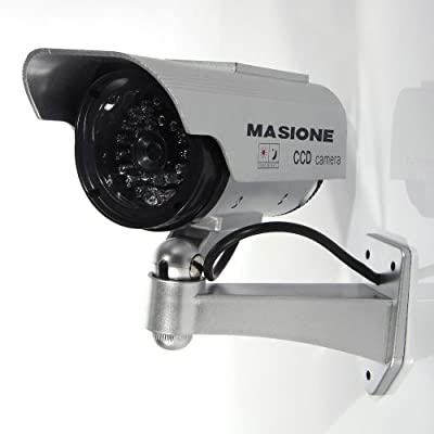 Masione™ Fake Security Camera - Heavy Duty - Night Vision Look - Solar Power