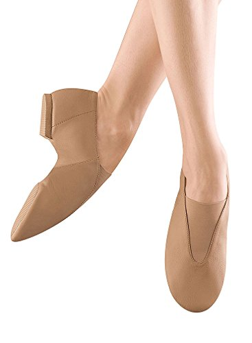 Bloch Youth Super Jazz Jazz Shoe, Tan-9 M Tod front-531823