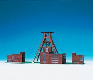 maquette en carton mine de charbon de zollverein essen allemagne jeux et jouets. Black Bedroom Furniture Sets. Home Design Ideas