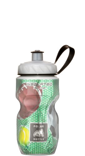 Polar Insulated Water Bottle (12-Ounce Kids, Play Ball)