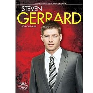 2013 Liverpool Steven Gerrard Calendar