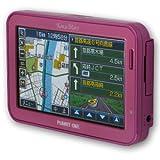Ken&Mary ワンセグ内蔵 ポータブルナビ 4.3インチワイド液晶 2GB内蔵 PN-4320P ピンク