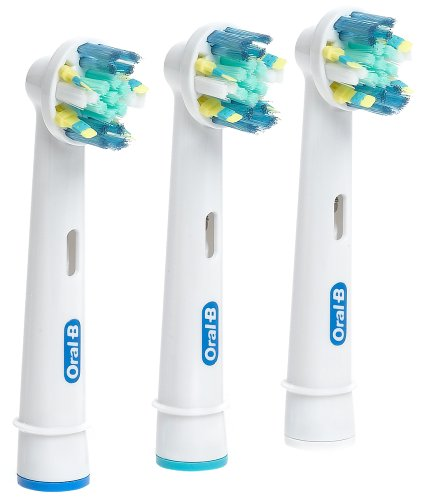 Oral B Floss Action 3 pack brush head refill