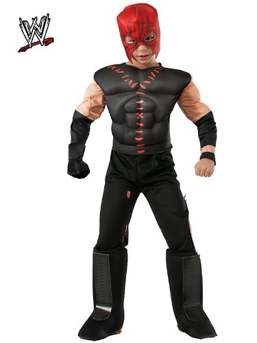 Rubies WWE Deluxe Muscle-Chest Kane Costume