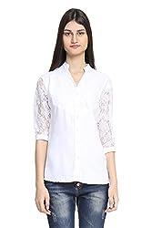 Zurick White Casual/Formal Shirt (Large)