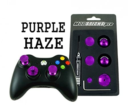 Modsticks Pro Xbox 360 Controller Analog Sticks (Purple)