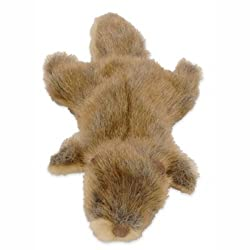 GoDog 770694 Mini Road Kill Otter Dog Toy