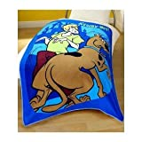 Scooby Doo Fleece Blanket Printed Design 125 X 150cm