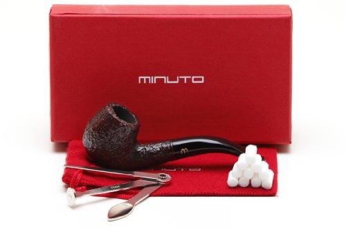 Savinelli Minuto Rustica Bruna 609 Tobacco Pipe