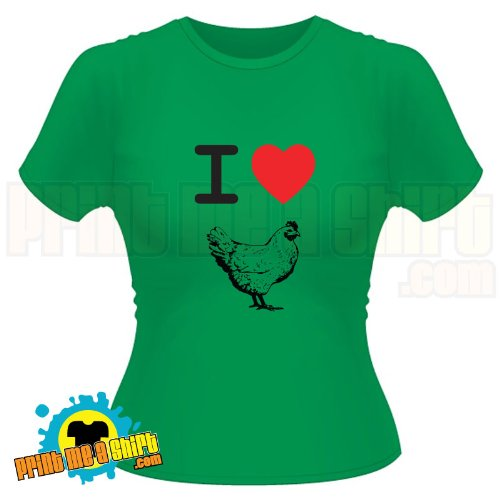 Ladies I love cock hen t shirt