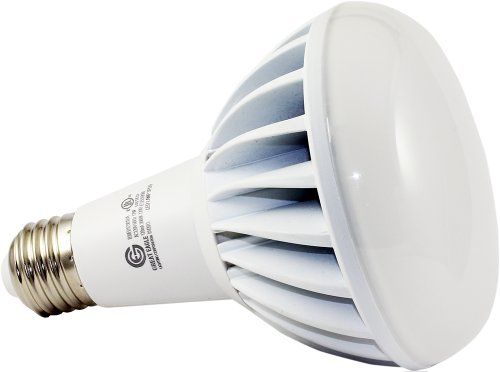Genuine Great Eagle Led Br30/R30 Idealk Bulb. 12W = 90W Equivalent Ul Certified 3000K 120° Beam Angle Fully Dimmable Wide Flood Light For Recessed And Track Lighting Fixtures - 5 Year Warranty Backed By Usa Seller. Replacement Bulb For Incandescent Or Hal