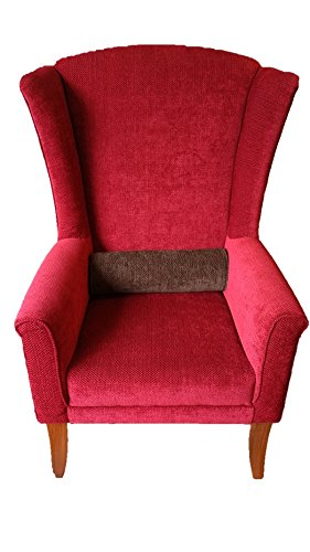 Schon Red wing chair with cushion