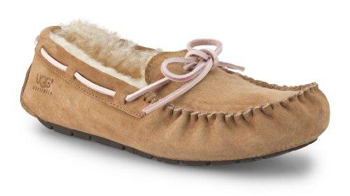 UGG Women's Dakota Slipper Tobacco Suede Size 10