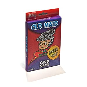 Hoyle Big Box Kid's Old Maid Card Game