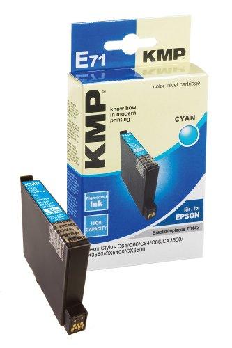 Cartouche d'impression - 1 x cyan Inkjet-Druckpatronen blau EPSON Stylus C64/C84, CX6400