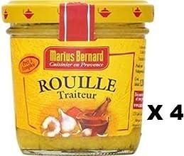Marius Bernard Rouille Traiteur x 4 jars