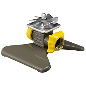 Nelson 50230 Metal Vane Square Pattern Spray Whirling Sprinkler