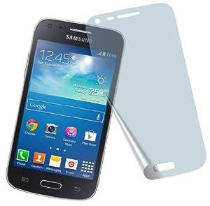 4x Samsung GALAXY Core Plus SM-G350 ENTSPIEGELNDE PREMIUM Displayschutzfolie Bildschirmschutzfolie von 4ProTec - Nahezu blendfreie Antireflexfolie