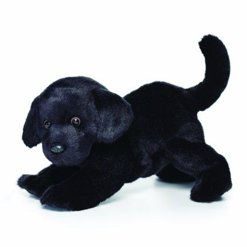 Nat and Jules Black Labrador Plush Toy, Large