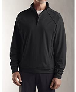 Iowa Hawkeyes Drytec Mens Burleigh Half Zip Pullover by Cutter & Buck