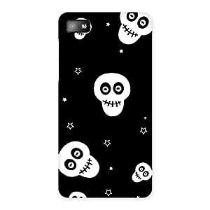 Special Skull Star Back Case Cover for Blackberry Z10