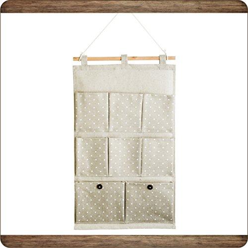 Znl borsa portaoggetti da parete organizzatore da appendere con 8 tasche jbgd01 - Portaoggetti da parete ikea ...