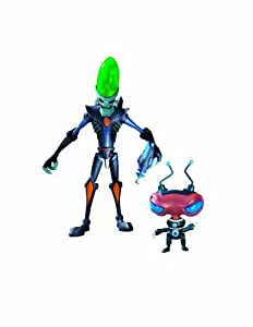 Ratchet & Clank Series 1: Dr. Nefarious with Zoni Action Figure