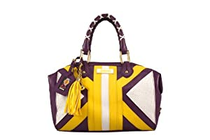 NBA Los Angeles Lakers Suite Team Duffel Bag, Purple by Littlearth