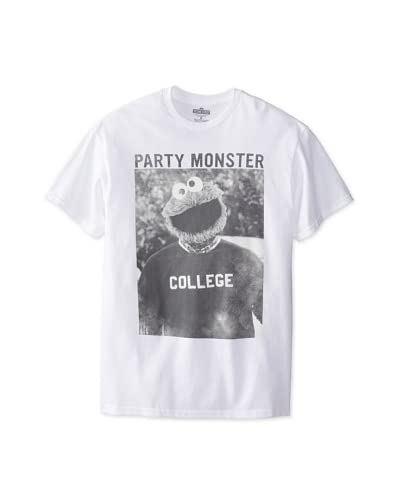 Sesame Street Men's Sesame Street Party Monster T-Shirt