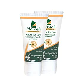 Semeli Natural Sun Care SPF 25, 50ml
