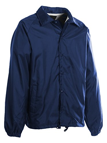 First Class 100% Nylon Windbreaker (Navy Blue)-Small