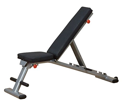 Body-Solid GFID225 Folding Adjustable Weight Bench - Flat Incline Decline...
