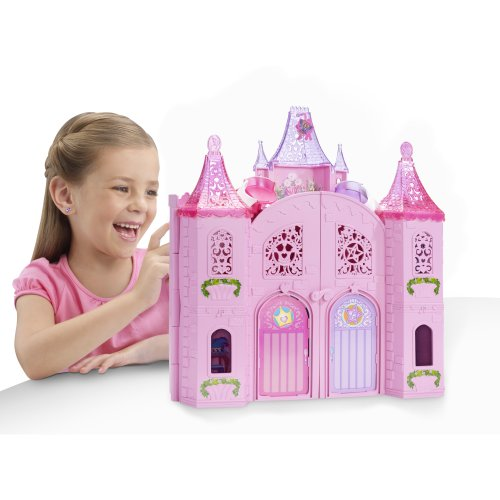 Barbie The Princess And The Popstar Musical Light Up Castle Playset front-1046064