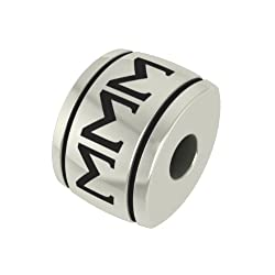 Sigma Sigma Sigma Barrel Sorority Bead Charm Fits Most Pandora Style Bracelets. Check to See If We Have Your University Bead Also. In Stock Ships Fast.