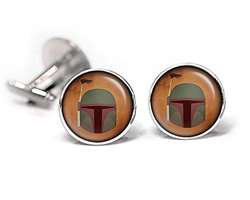 Boba Fett Cufflinks, Star Wars Tie Clip, Jedi Jewelry, Darth Vader, Stormtrooper stormtroopers Death Star, Star Wars Wedding Party Gifts, Groomsmen Gift