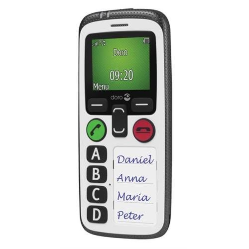 "Doro Secure 580 4.57 cm (1.8"") 100 g White Senior phone"