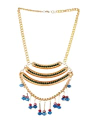 Bluebarry's Beautiful Metal Thread Necklace For Women - B00HJKQGR0