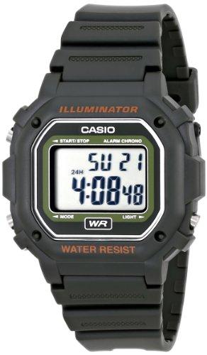 Casio Kids F-108WH-3ACF Big Square Digital Display Quartz Black Watch