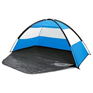 UPF Protection Beach Camping Festival Tent Zip Up Sun Shelter 2 Man Person