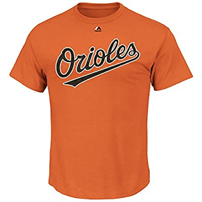 Adam Jones #10 Baltimore Orioles MLB Men's Name and Number T-Shirt Orange