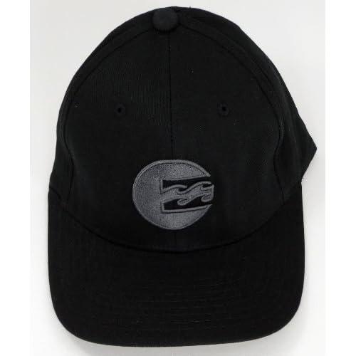 ビラボン【BILLABONG/並行輸入品】 メンズキャップ ブラック&ブラック刺繍【S/M】
